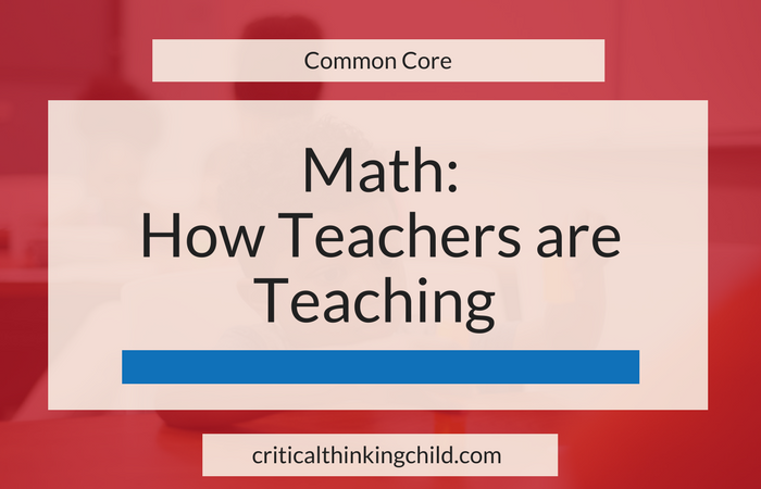 Math: How Teachers are Teaching