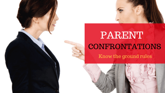 How to Confront Other Parents at School